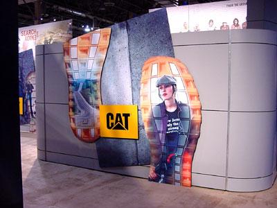 CAT – trade show design