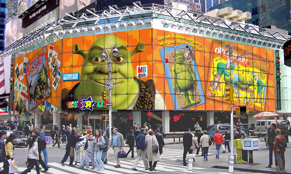 Toys'R'Us building Wrap – Times Square / New York City