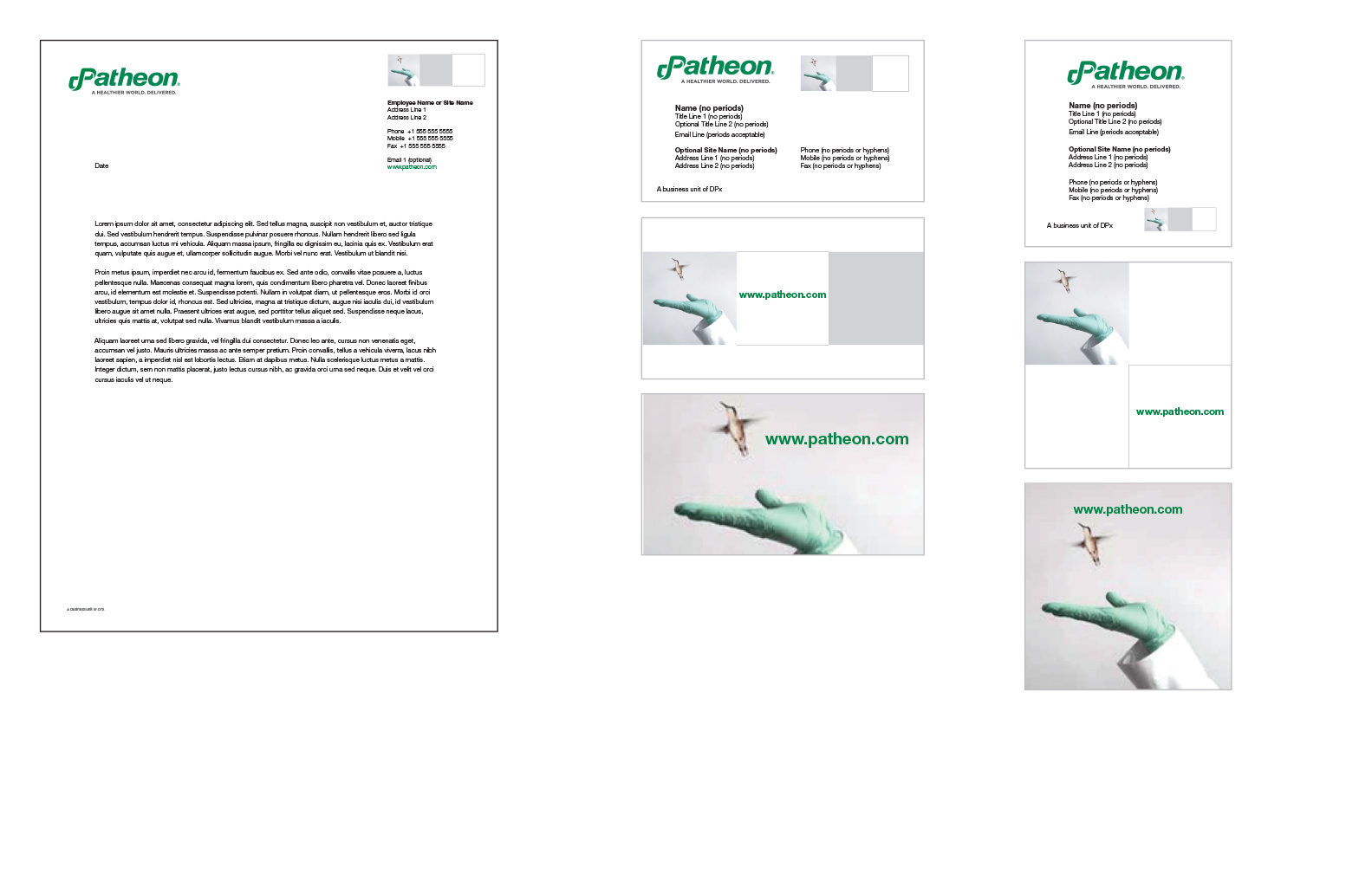 Brand Identity – letterhead, logo, business cards, envelopes