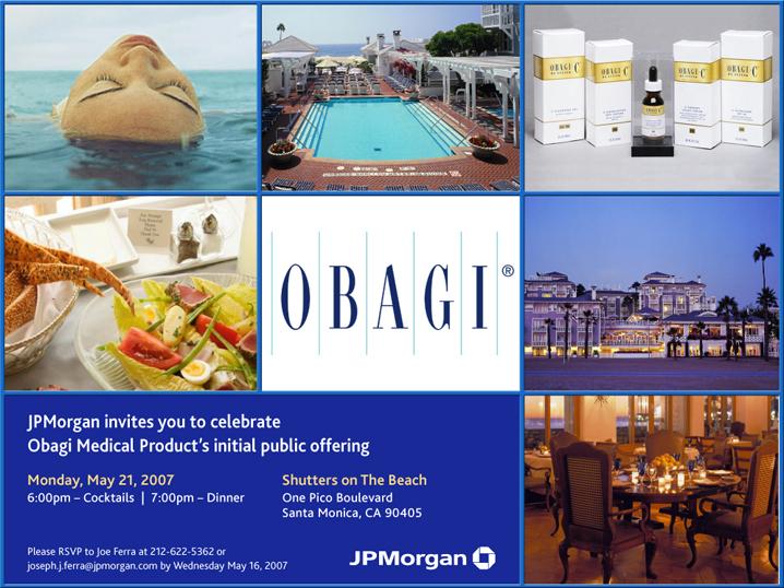 Obagi Invite