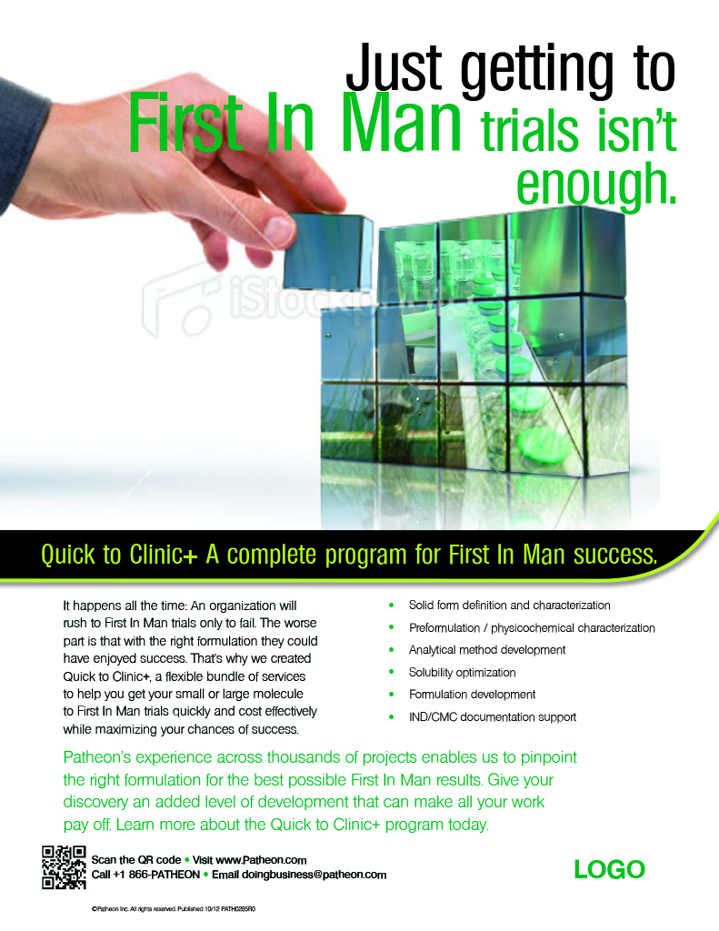 First-in-Man Ad