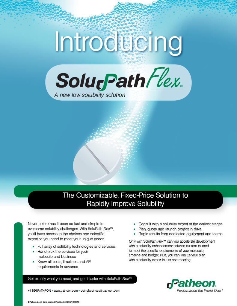 SoluPathFlex Print Ad