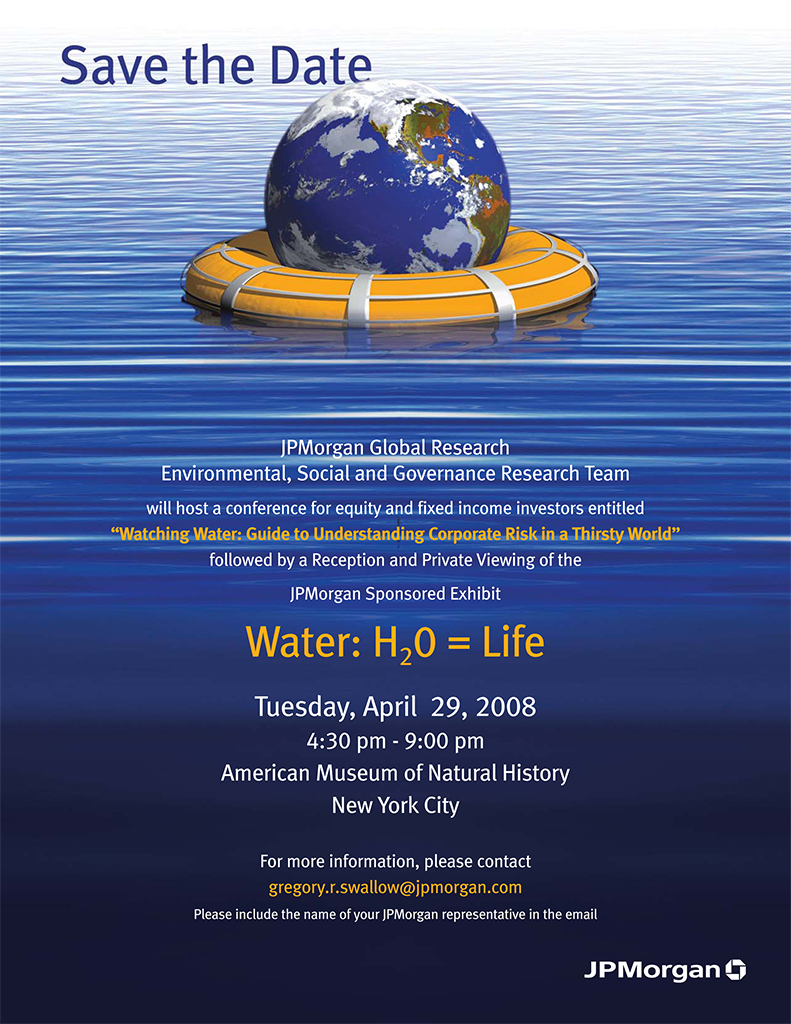 Water conference invite